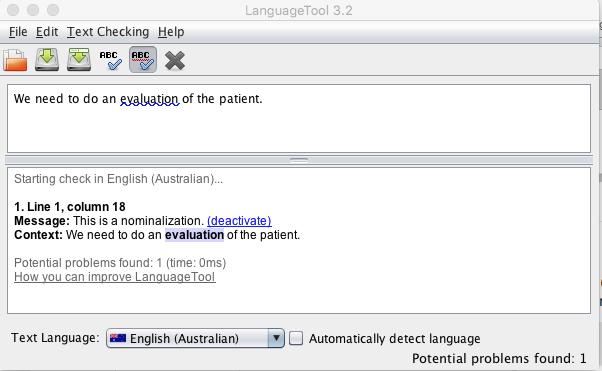 Help Detect Nominalization In En Languagetool Forum