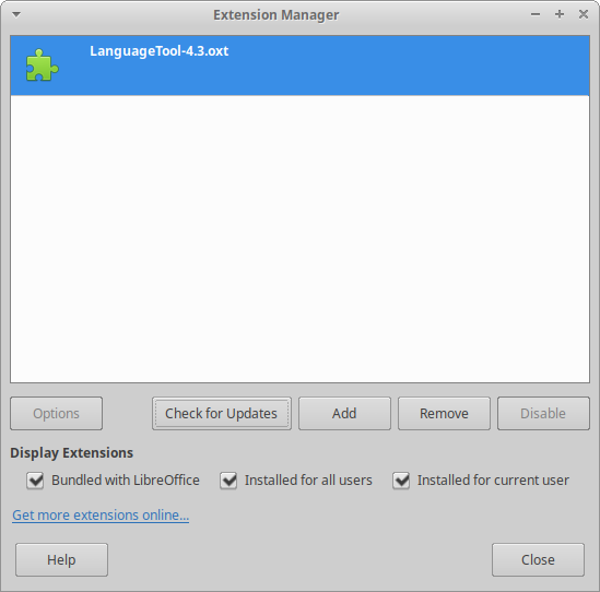LibreOffice how to install? - LanguageTool Forum
